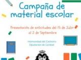 CAMPAÑA DE MATERIAL ESCOLAR ORGANIZADA POR LA DIPUTACIÓN DE CARIDAD DE LA HERMANDAD