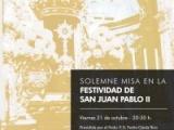 MISA SOLEMNE EN LA FESTIVIDAD DE SAN JUAN PABLO II